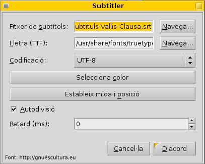finestra subtitler