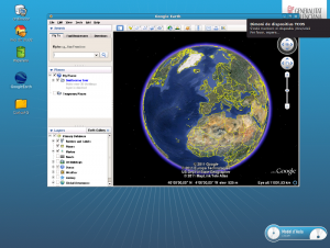 Google Earth en lliurex 10.09 client lleuger